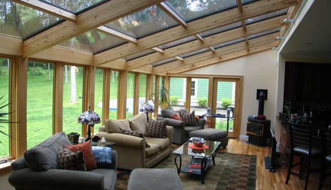 Sunrooms available at Budget Glass - All Seasons Sunrooms Distributor