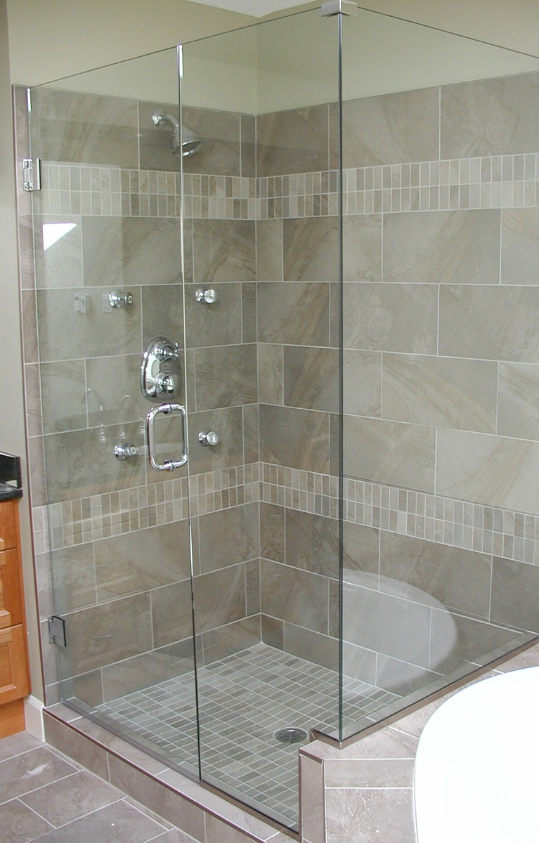 Glass Shower Surround Nanaimo