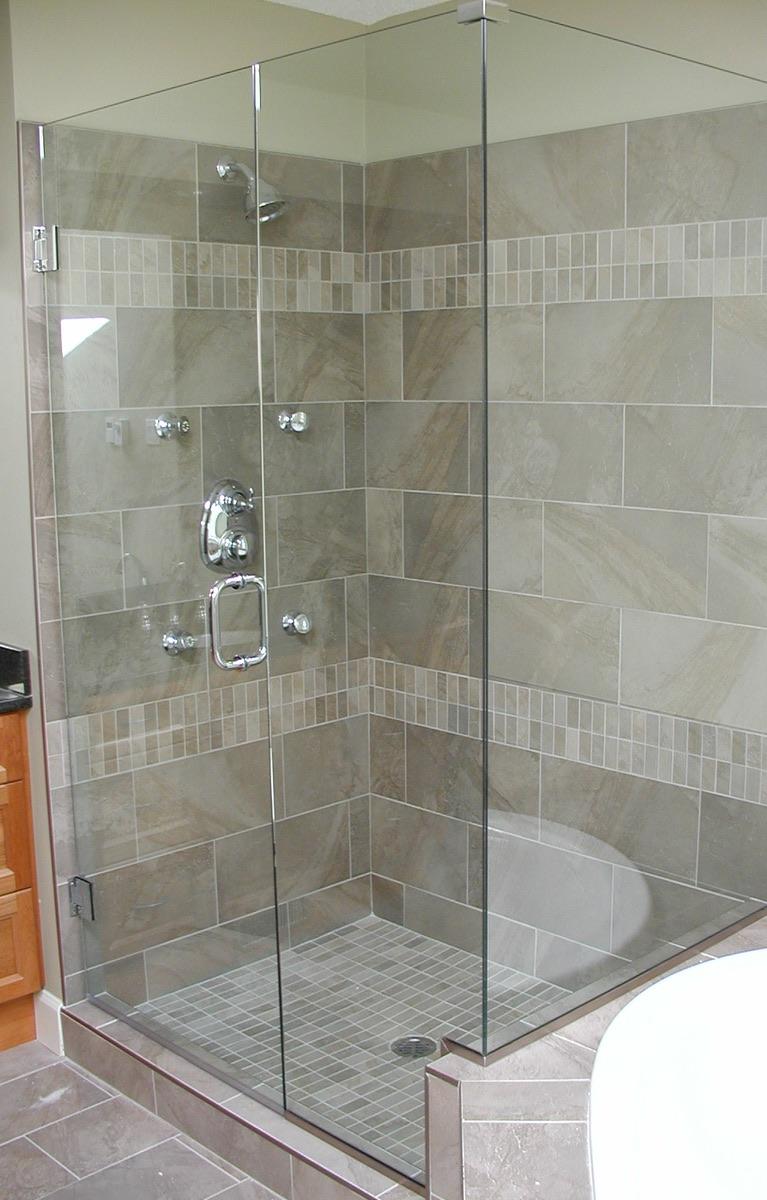 Glass Shower Surround Nanaimo