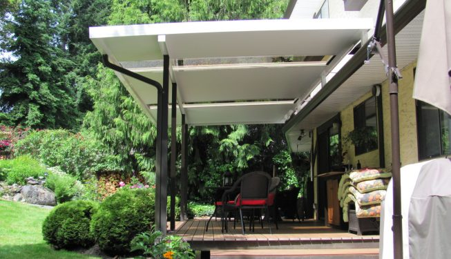 Glass Patio Covers & Canopies