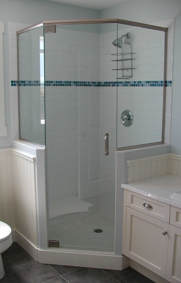Corner Glass Shower Door