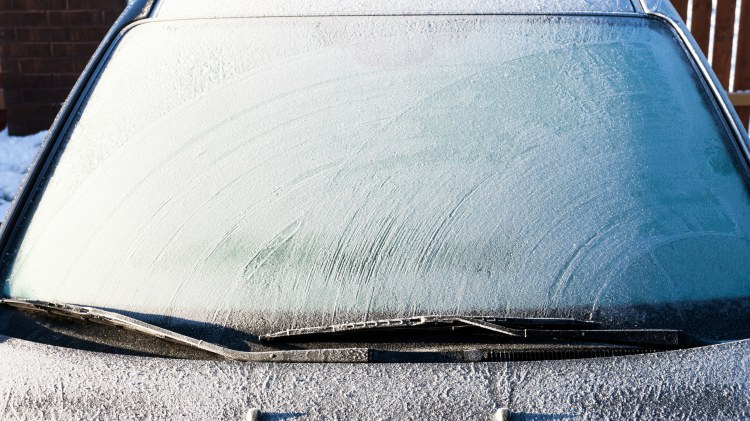 de-frost-windshield