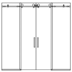 shower-tub-center-open-dual-slider-2-panels