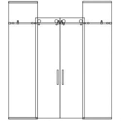 shower-tub-center-open-dual-slider-2-panels-ceiling