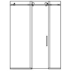 shower-tub-single-slider-2-panels