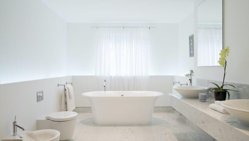 add more light to bathroom